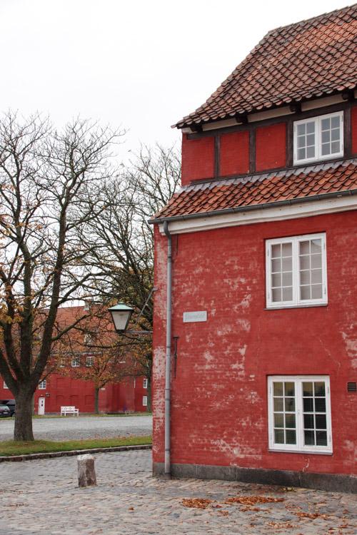 habitations de la citadelle du Kastellet - Copenhague