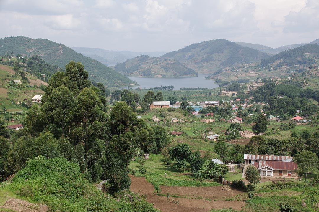 paysage de l'Ouganda