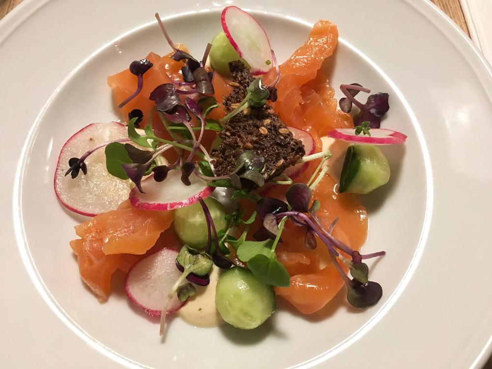 Saumon Gravelax - Restaurant Puk