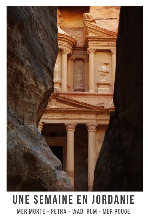 Itinéraire pour un voyage d'une semaine en Jordanie depuis la Mer Morte à la Mer Rouge en passant par Pétra et le désert du Wadi Rum