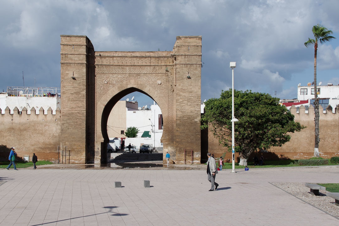 porte Bab Lamrissa à Salé
