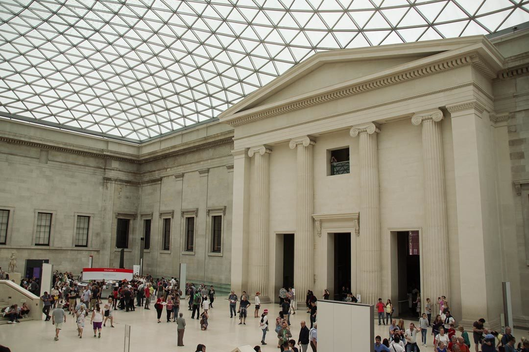 Hall du British Museum - Londres