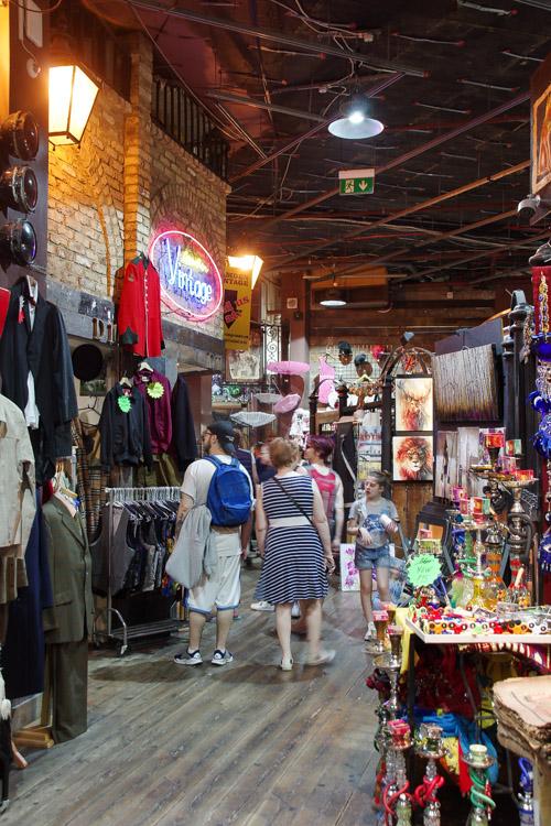 marché aux puces de Camden Town