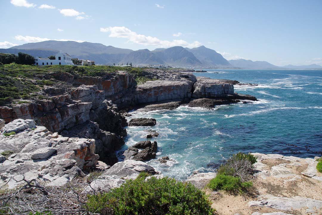 Sentier côtier à Hermanus - Afrique du Sud