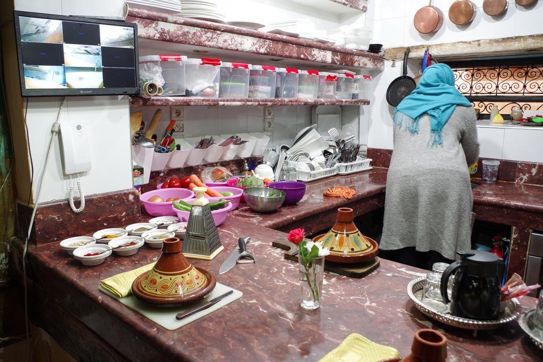 Cours de cuisine au Riad The Repose