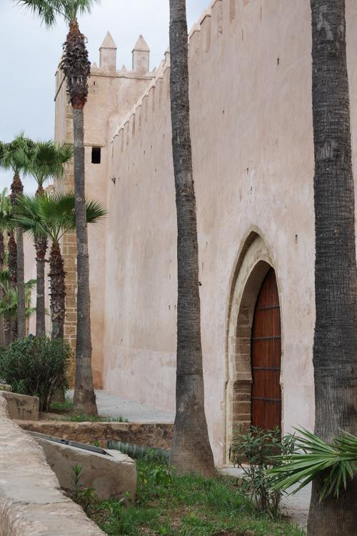 Les fortifications de la Kasbah des Oudayas