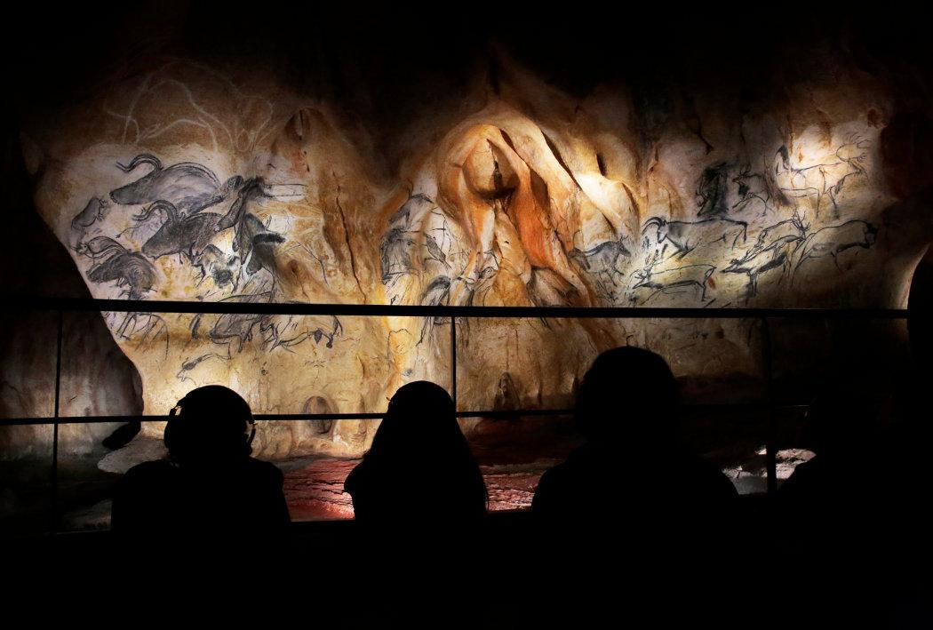 Reproduction des fresques prehistoriques de la Grotte Chauvet