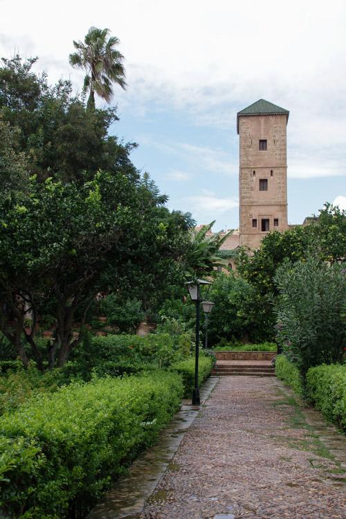 le jardin andalou Kasbah des Oudayas
