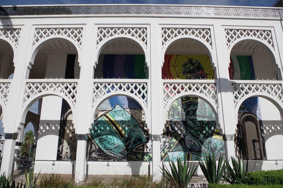 Le musée d'Art Moderne de Rabat