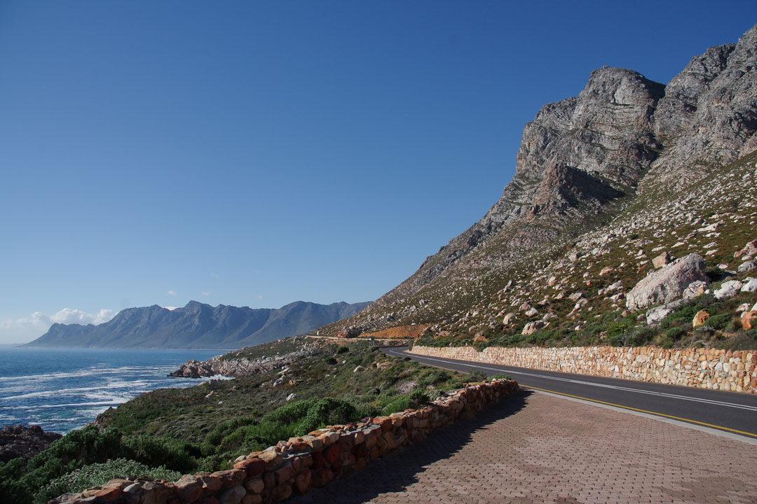 Route côtiere entre Cape Town et Hermanus