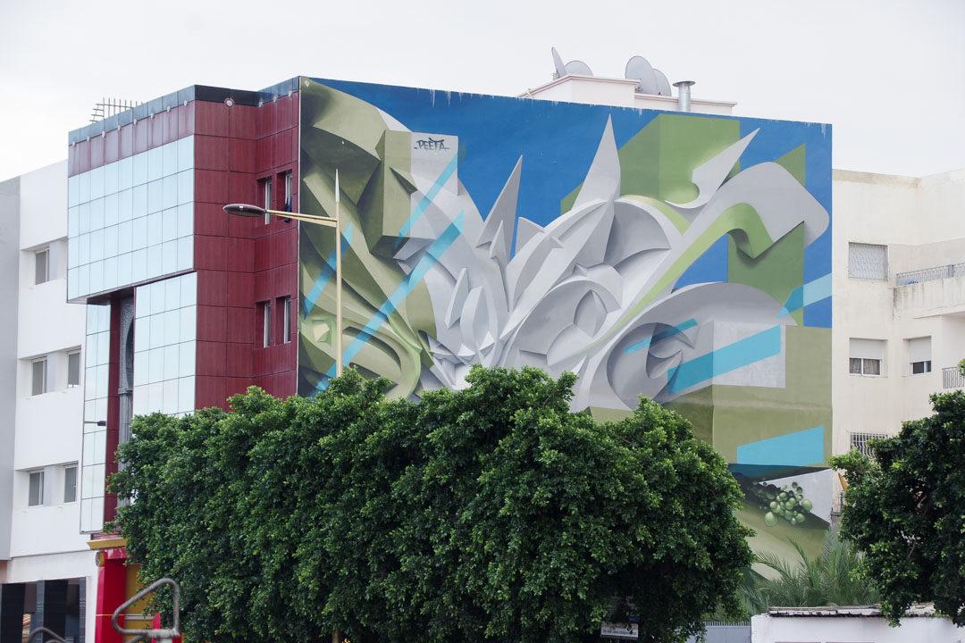 Street-Art à Rabat