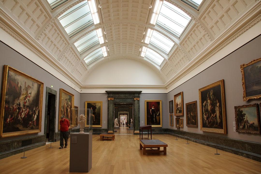 Visite du musée de la Tate Britain à Londres