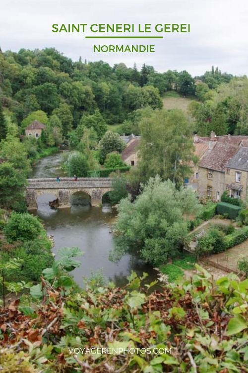 Visite de Saint Ceneri le Gerei, l'un des plus beaux villages de France dans l'Orne