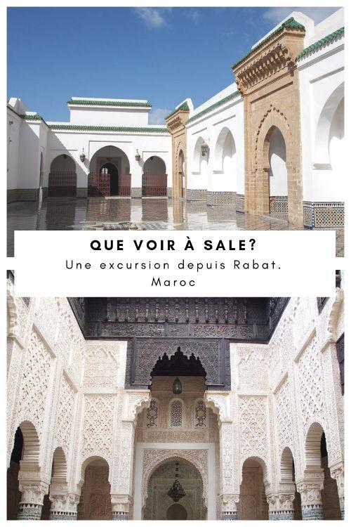 Que voir à Salé, la ville voisine de Rabat ? Maroc