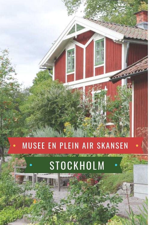Visite du musée en plein air de Skansen à Stockholm