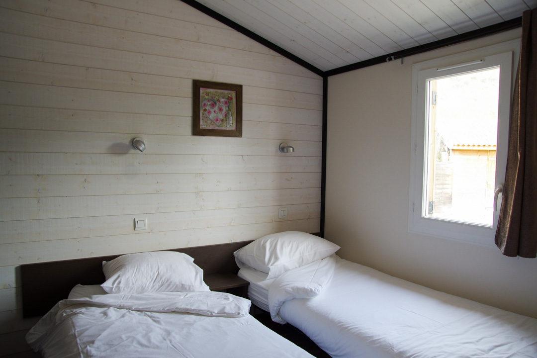 chambre à l'intérieur du domaine saint Estève