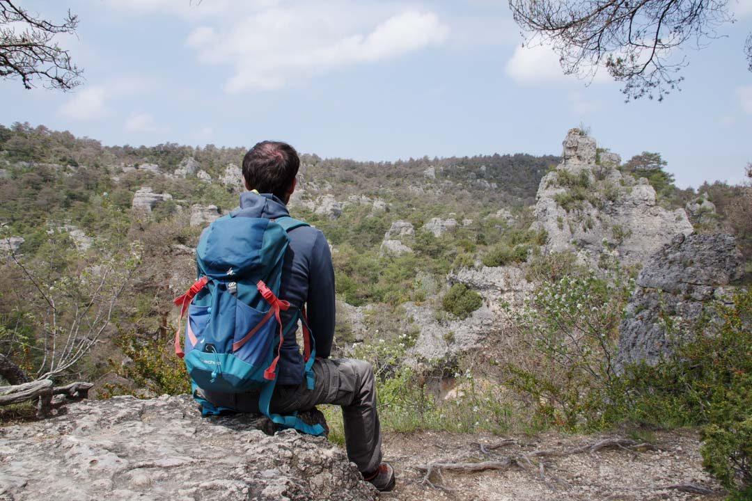 profiter de la nature à Montpellier le Vieux