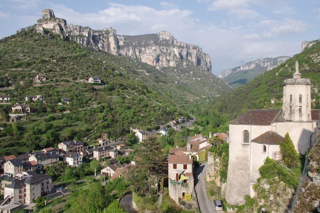 panorama autour de Peyreleau