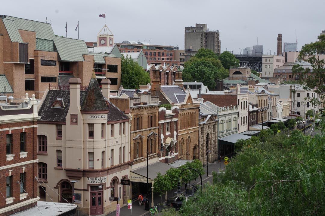 Le Quartier historique de The Rocks - Sydney