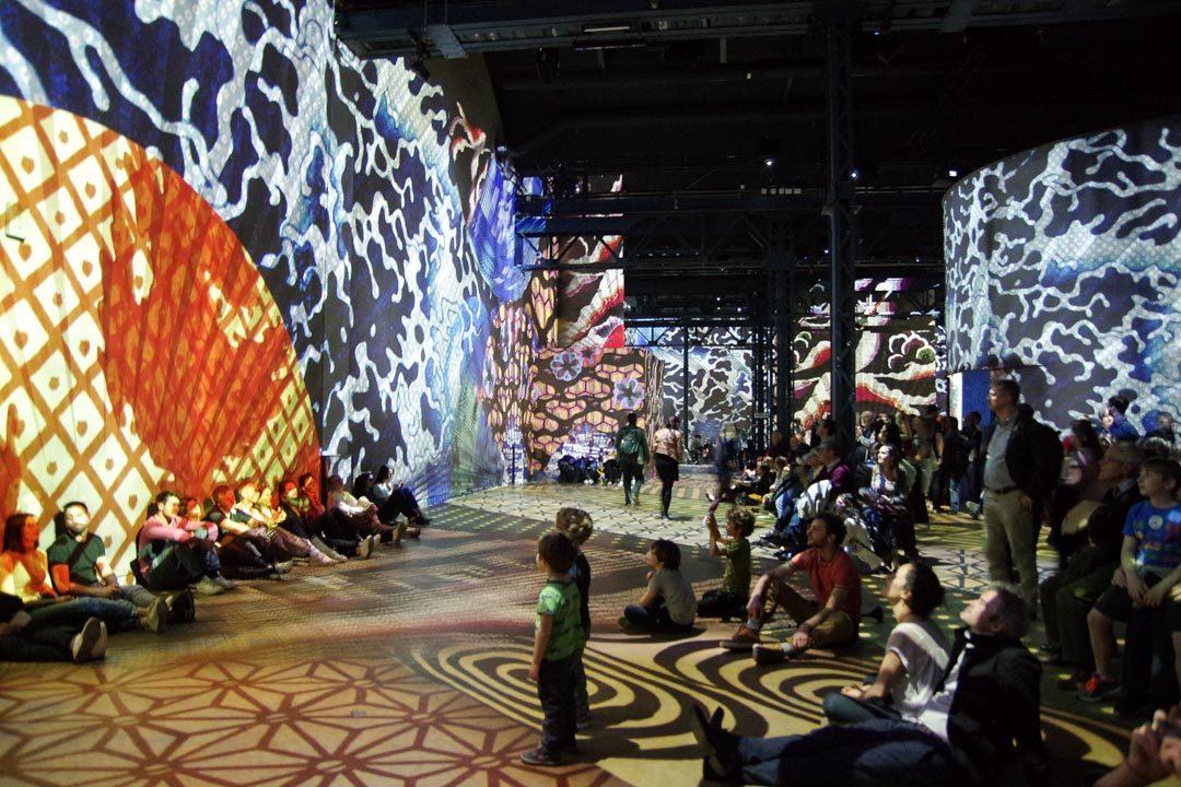 atelier des lumières - art immersif - paris