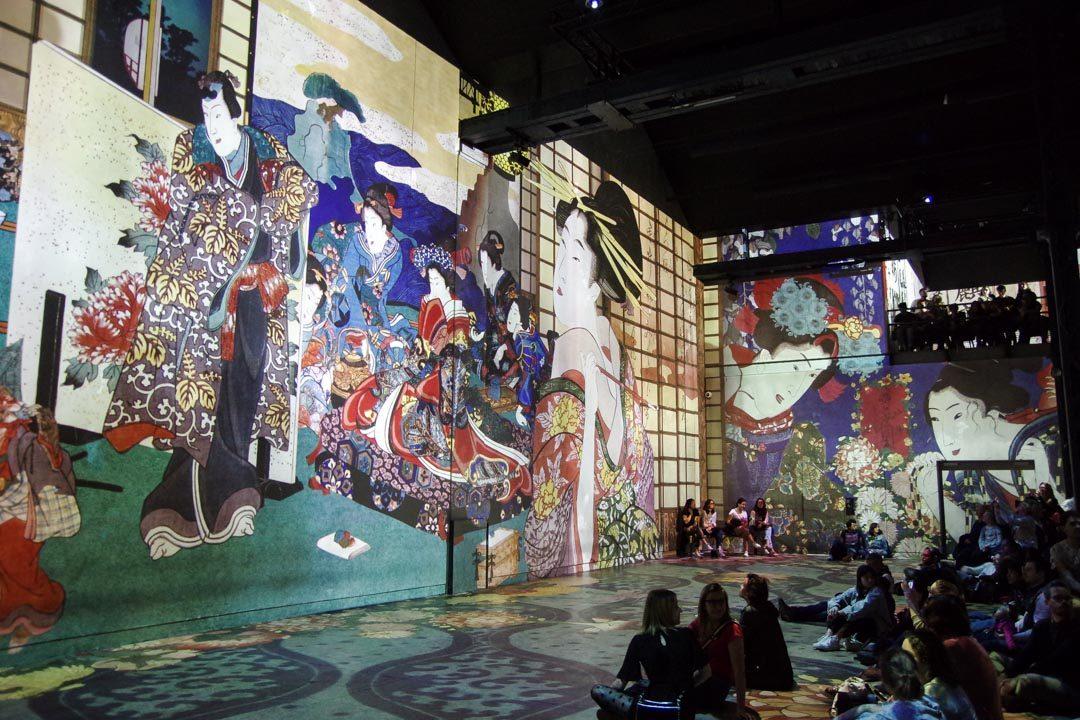 Atelier des Lumières - Exposition Japon Reve