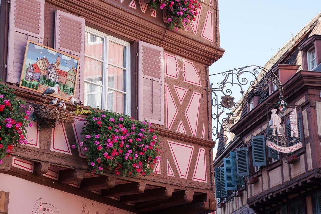 la maison du Pèlerin à Colmar