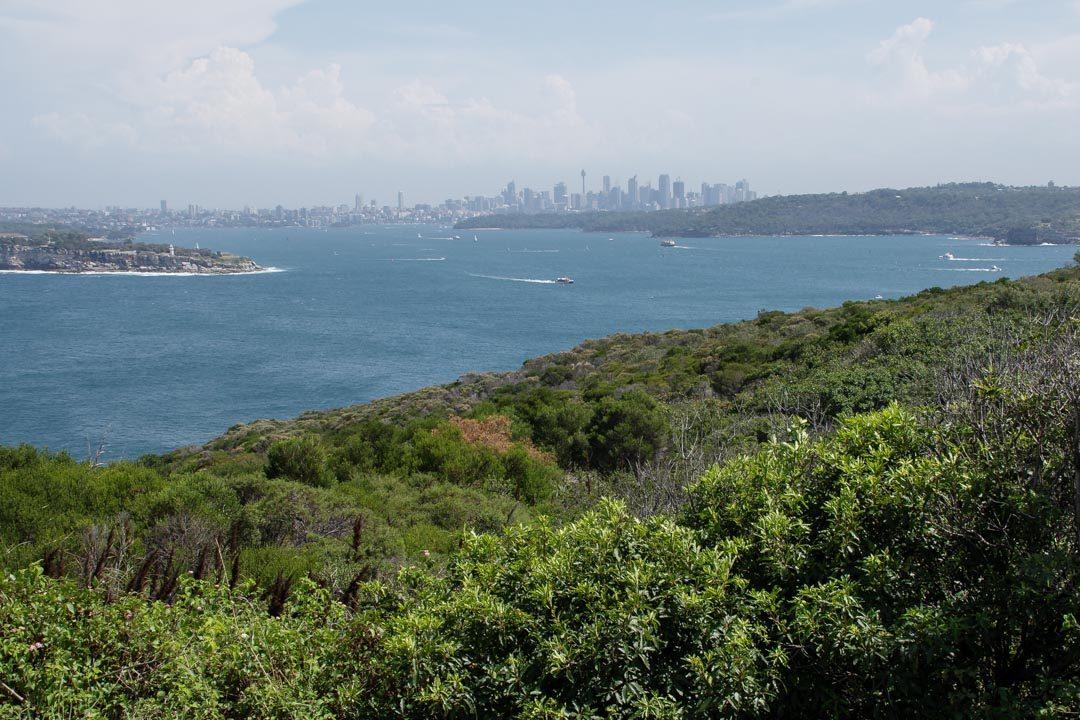 Panorama sur Sydney depuis North head