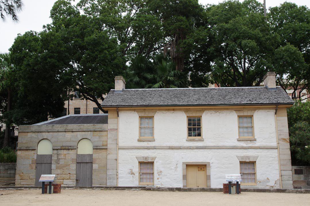 la plus vielle maison de Sydney