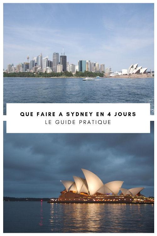 Que visiter à Sydney en 4 jours ? Circular Quay, l'Opéra, la balade des plages de Bondi à Coogee...