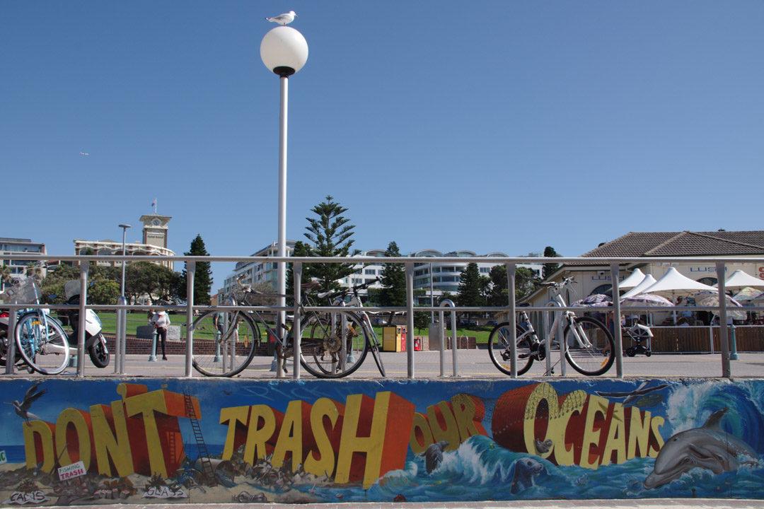 Street Art à Bondi - Sydney