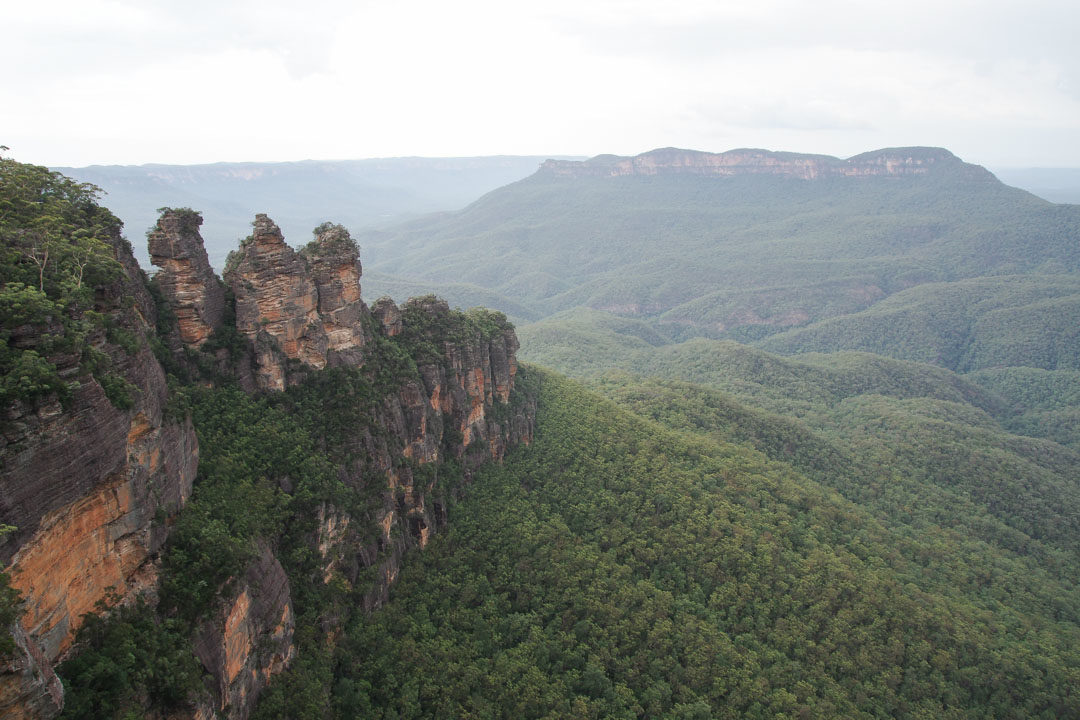 Panorama sur les Three Sister - Blue Mountains National Park