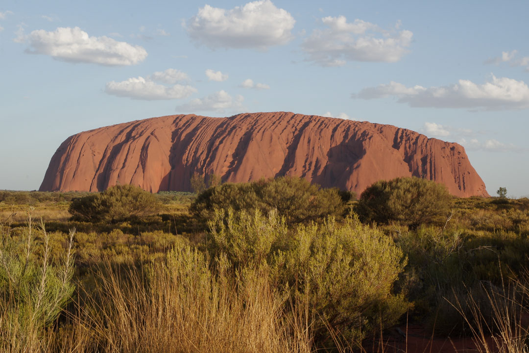 Uluru - Centre rouge de l'Australie