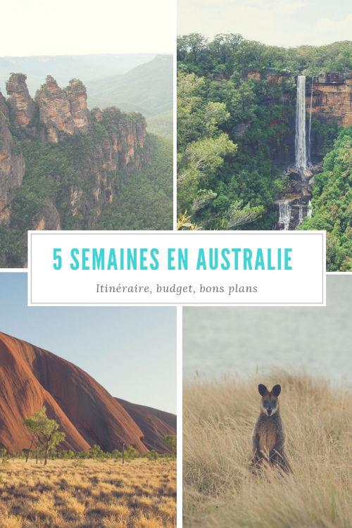 Itinéraire, budget et bons plans pour un voyage de 5 semaines en Australie de Sydney à Adélaide en passant par le Centre Rouge