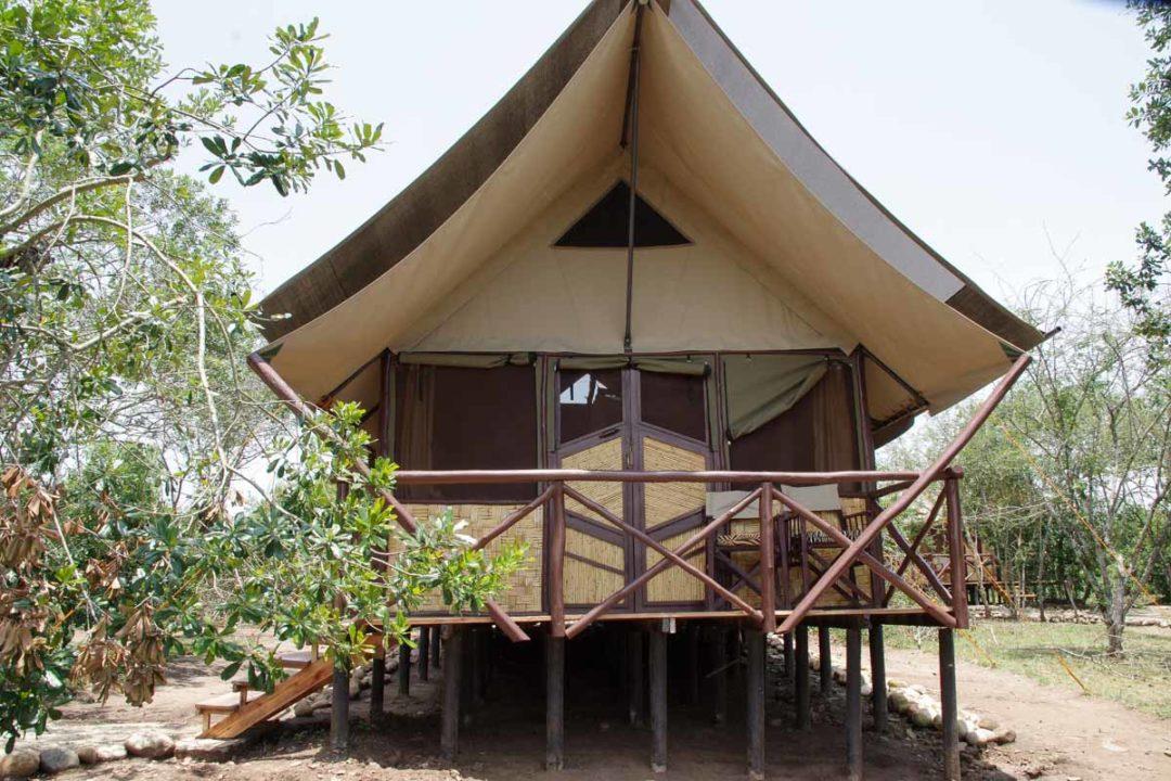 Tente Bush Camp Queen Elisabeth National Park