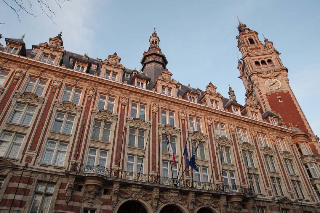 Chambre de Commerce de Lille - façade extérieure