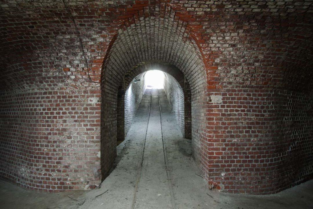les couloirs du Fort de Seclin