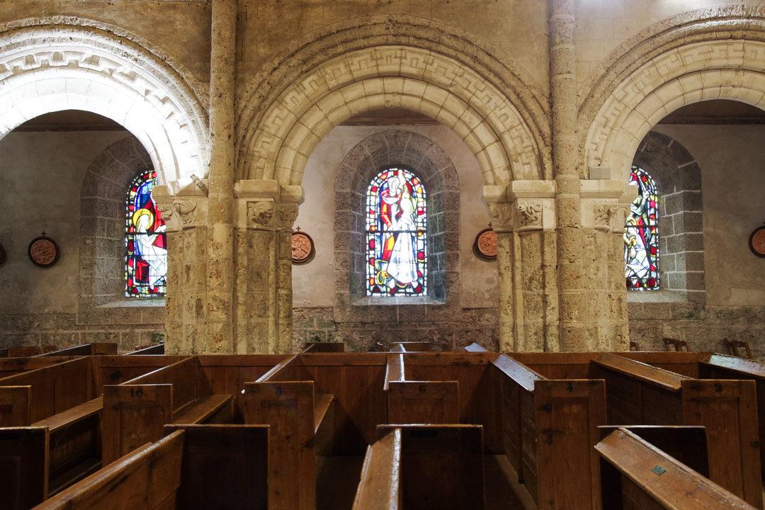 Eglise romane de Ste Marguerite sur Mer