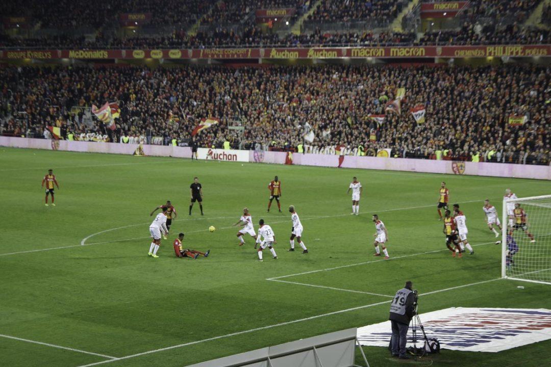 Match de foot à Lens