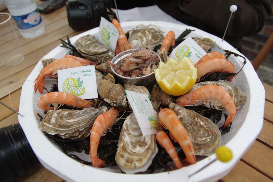 plateau de fruits de mer - quiberville