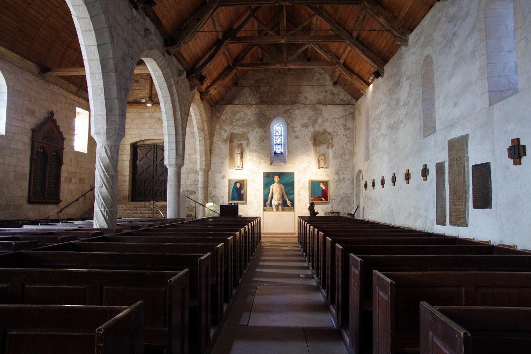 Intérieur de l'Eglise de Varengeville