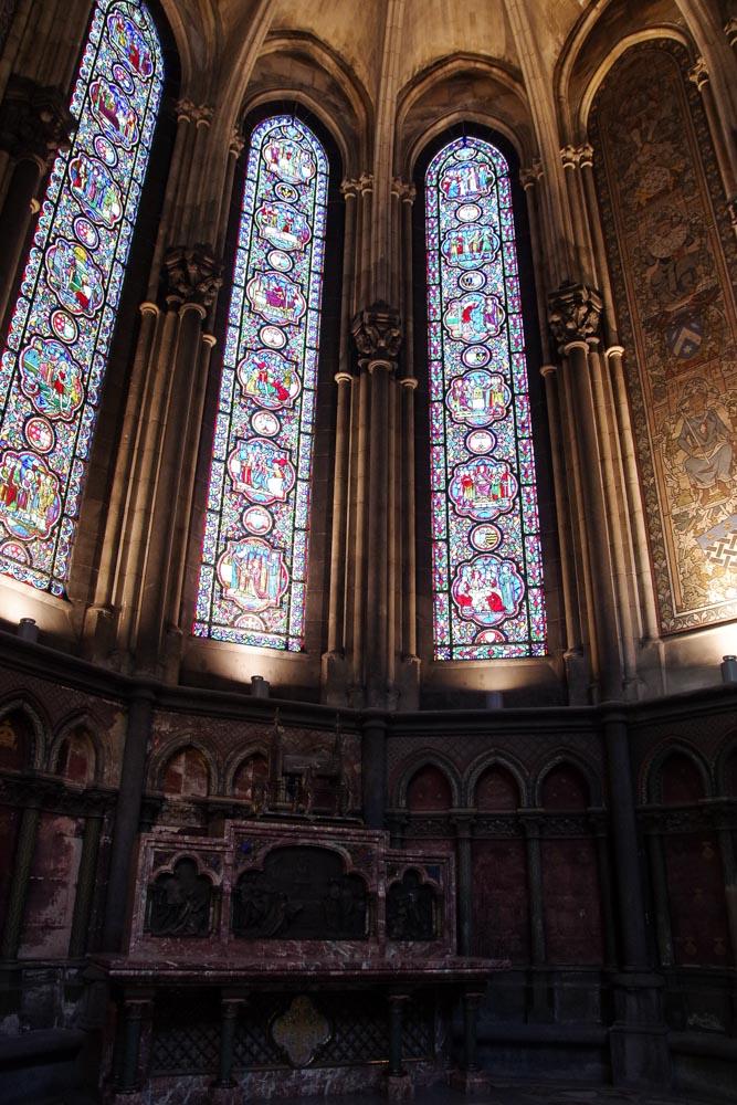 Intérieur Notre Dame de la Treille
