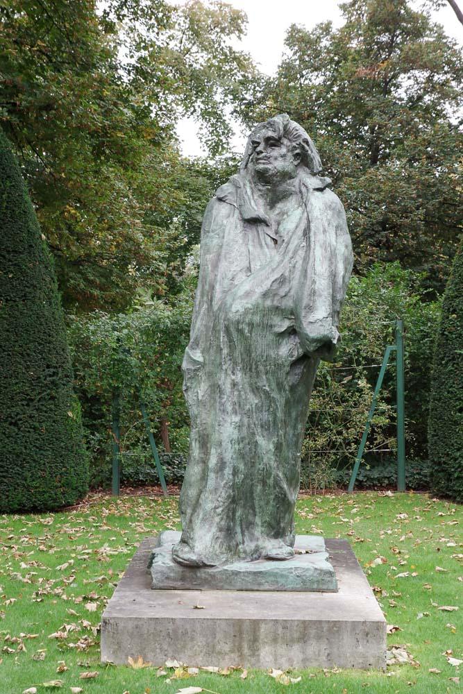 Balzac par Rodin - le jardin de sculptures du musée Rodin
