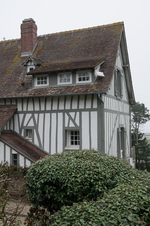 maison à colombages - quiberville sur mer