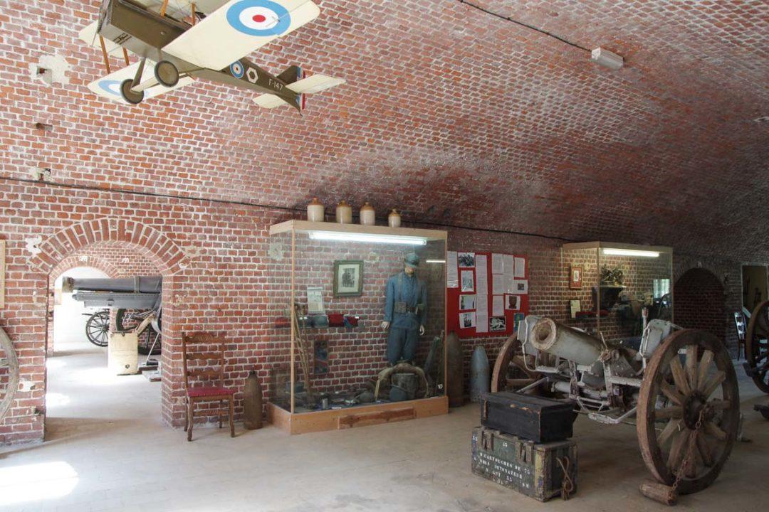 musée de la premiere guerre mondiale au Fort de Seclin