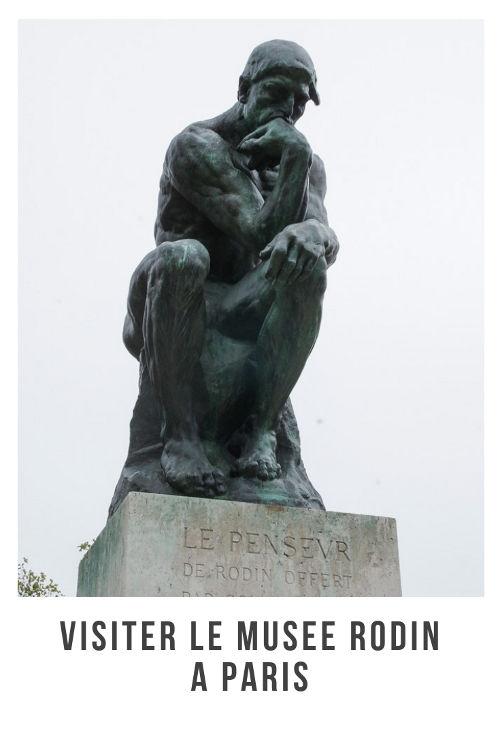 Récit de ma visite au musée Rodin de Paris