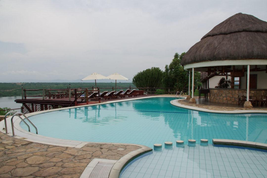Piscine du lordge Mweya Safari Lodge