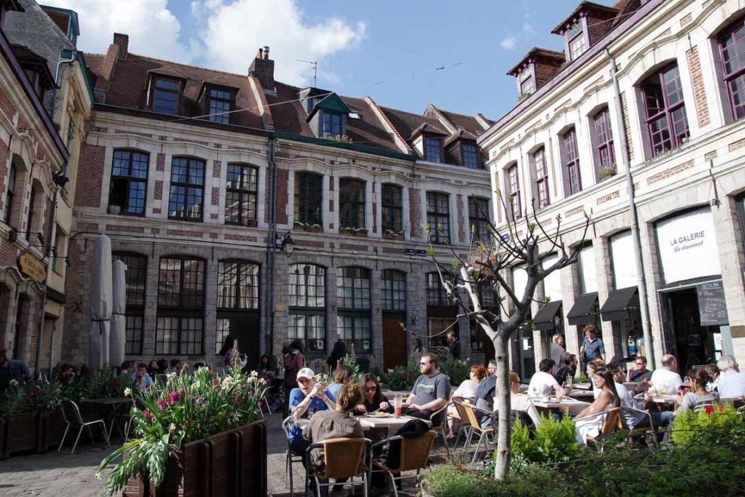 La Place aux oignons - Vieux Lille