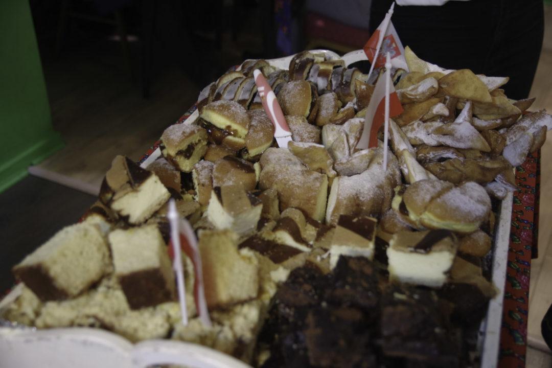 plateau de desserts polonais