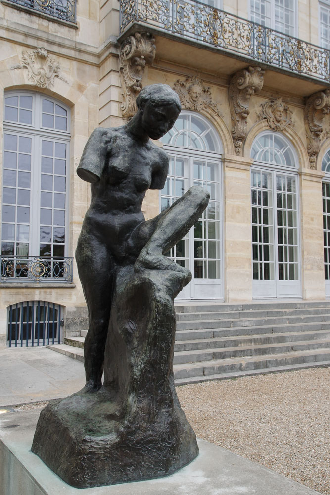 Scultpure extérieure - Jardin du musée Rodin