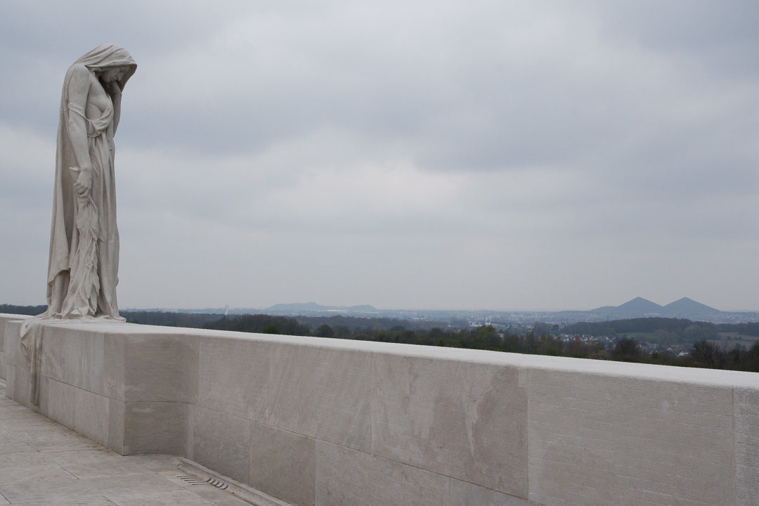 Statue du Canada pleurant ses morts - Vimy